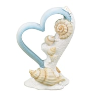 "Hortense B. Hewitt, 6"", Seaside Jewels Cake Top, White/Light Blue"
