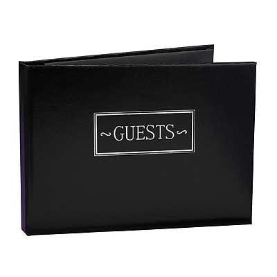 HBH™ Small Guest Book, Black