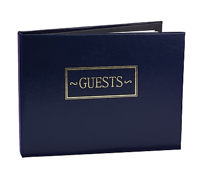 HBH™ Small Guest Book, Navy Blue