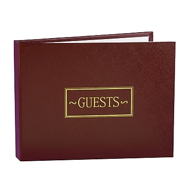 HBH™ Small Guest Book, Burgandy