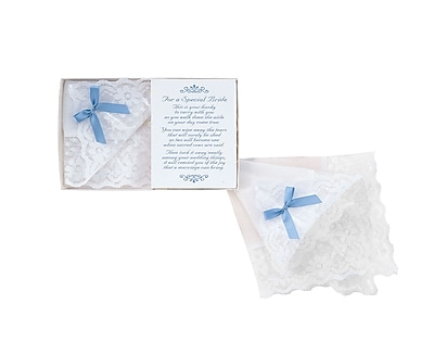 HBH™ Cotton Bride's Handkerchief, White