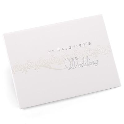 HBH™ My Daughter's Pearlescent Wedding Album, White