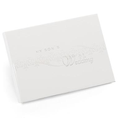 HBH™ My Son's Pearlescent Wedding Album, White