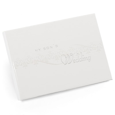 HBH™ My Son's Pearlescent Wedding Album, White