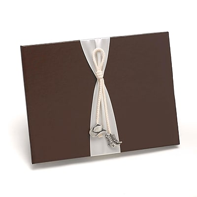HBH™ Cowboy Charm Guest Book, Brown