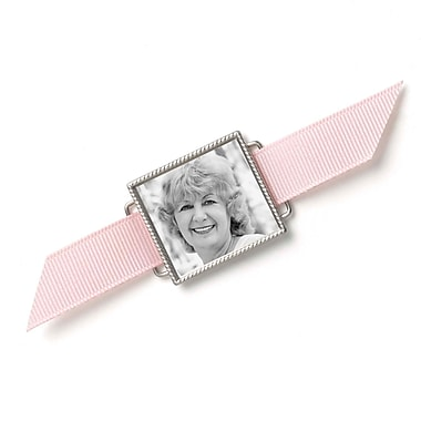 HBH™ Memory Bouquet Photo Buckle, Silver