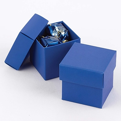 HBH™ 2-Piece Mix-and-Match Favor Boxes, Royal Blue