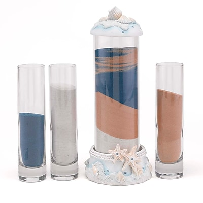 HBH™ Seashell Sand Ceremony Set, Clear/White