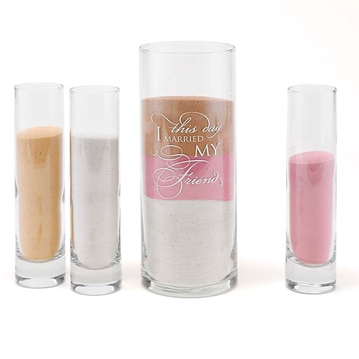 "HBH™ ""This Day"" Sand Ceremony Set, Clear"