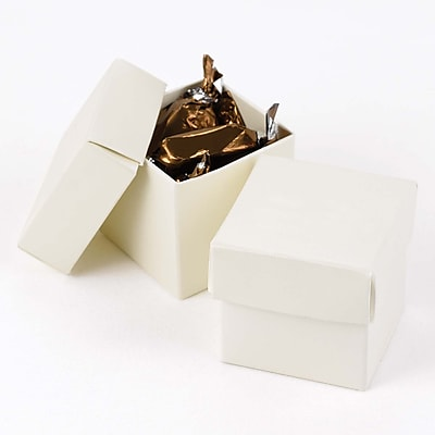 HBH™ 2-Piece Mix-and-Match Favor Boxes, Ivory Shimmer