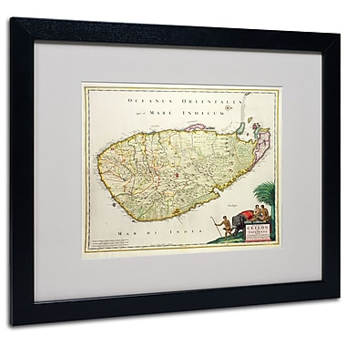 Trademark Fine Art 'Map of Ceylon 1626' 16
