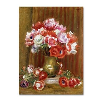 Trademark Fine Art 'Anemones 1909' 24