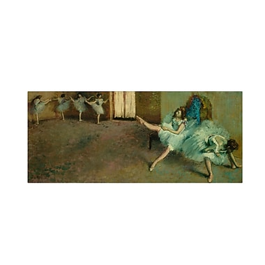 Trademark Fine Art 'Before the Ballet 1890-92' 20