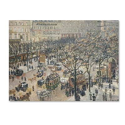 Trademark Fine Art 'Boulevard des Italiens 1897' 35