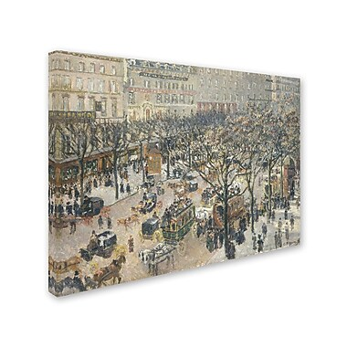 Trademark Fine Art 'Boulevard des Italiens 1897'