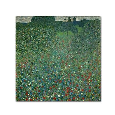 Trademark Fine Art 'Field of Poppies 1907' 35