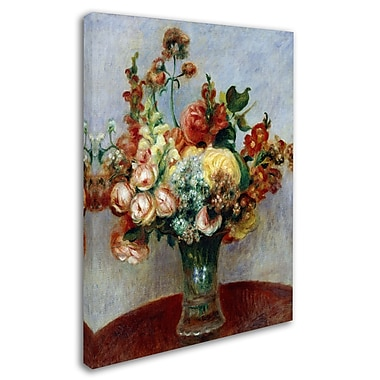 Trademark Fine Art 'Flowers In a Vase 1898' 24