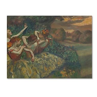 Trademark Fine Art 'Four Dancers 1899'