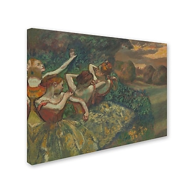 Trademark Fine Art 'Four Dancers 1899' 35