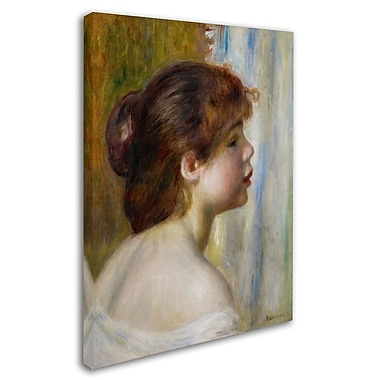 Trademark Fine Art 'Head of a Young Woman' 35