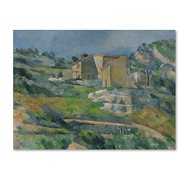 Trademark Fine Art 'Houses In the Provence 1833'