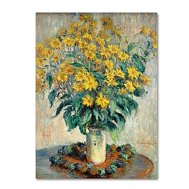 Trademark Fine Art 'Jerusalem Artichoke Flowers' 24