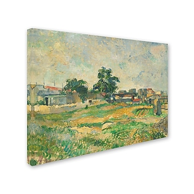 Trademark Fine Art 'LandScape Near Paris 1876'