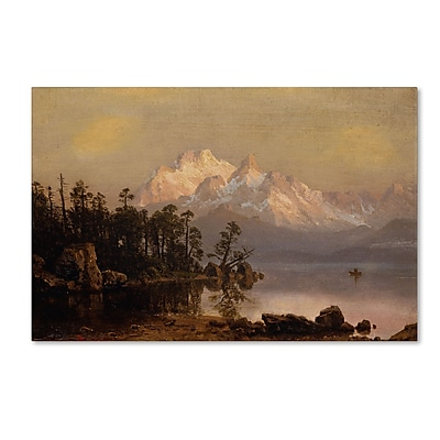 Trademark Fine Art 'Mountain Canoeing' 22
