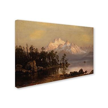 Trademark Fine Art 'Mountain Canoeing' 16