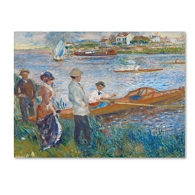 Trademark Fine Art 'Oarsmen at Chatou 1879' 35