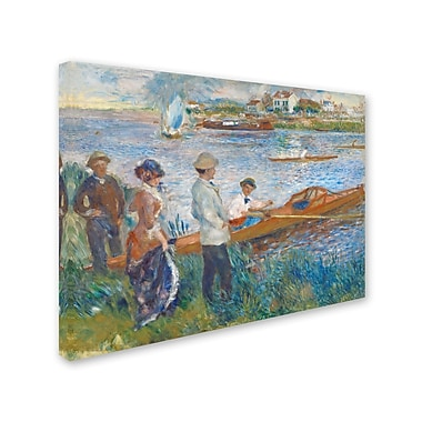 Trademark Fine Art 'Oarsmen at Chatou 1879' 24