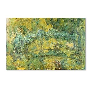 Trademark Fine Art 'Passage On 'Waterlily Pond 1919' 16