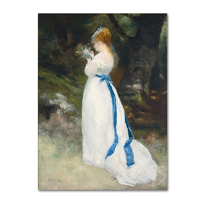 Trademark Fine Art 'Lady In White' 14