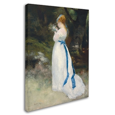 Trademark Fine Art 'Lady In White' 35