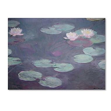 Trademark Fine Art 'Pink Lilies 1897-1899' 18