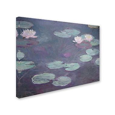 Trademark Fine Art 'Pink Lilies 1897-1899' 24