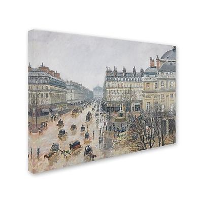 Trademark Fine Art 'Place du Theatre Francais 1898' 24