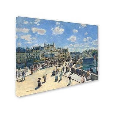 Trademark Fine Art 'Pont Neuf Paris 1872'