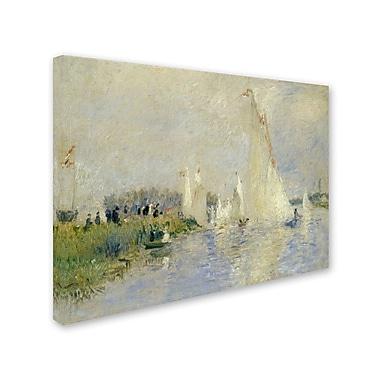 Trademark Fine Art 'Regatta at Argenteuil 1874' 18