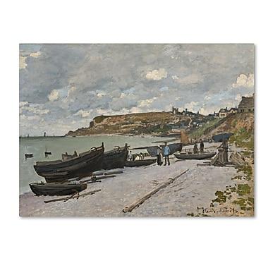 Trademark Fine Art 'Sainte-Adresse 1867' 35