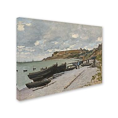 Trademark Fine Art 'Sainte-Adresse 1867' 18