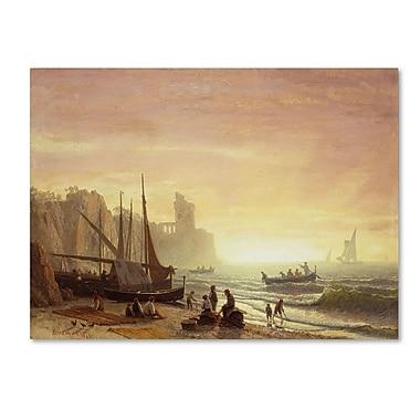 Trademark Fine Art 'The Fishing Fleet 1862' 35