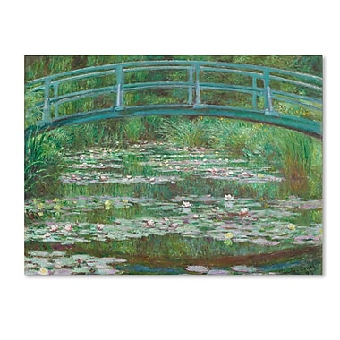 Trademark Fine Art 'The Japanese Footbridge 1899' 35