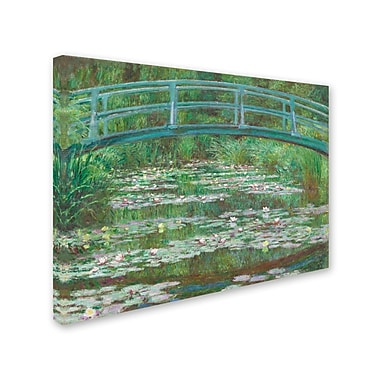 Trademark Fine Art 'The Japanese Footbridge 1899' 24