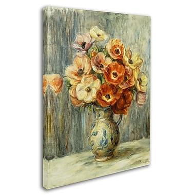 Trademark Fine Art 'Vase d'Anemones' 18