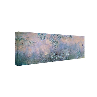 Trademark Fine Art 'Water Lilies 1914-22' 6