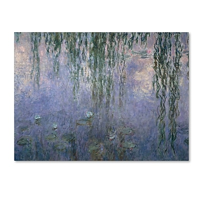 Trademark Fine Art 'Water Lilies III 1840-1926' 14