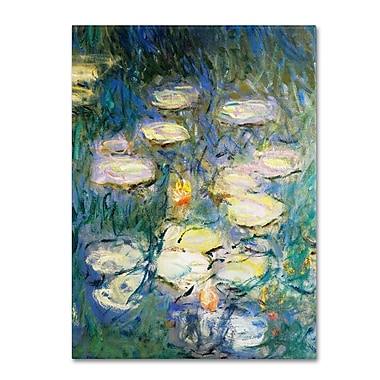 Trademark Fine Art 'Water Lilies V 1840-1926' 35