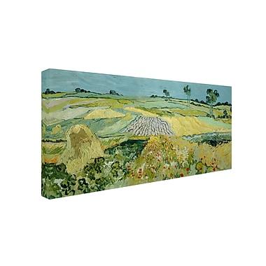 Trademark Fine Art 'Wheatfields Near Auvers' 16