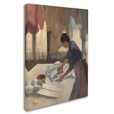 Trademark Fine Art 'Woman Ironing 1876-87' 18